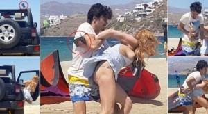 Lindsay Lohan rrihet keq nga i fejuari