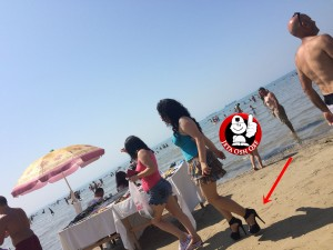 Linda Morina për pushime në Durrës