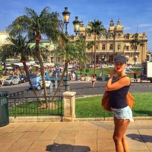 Marina Vjollca për pushime në Monte Carlo
