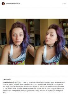 Ronela Hajati: Nuk turpërohem për tiparet e mia