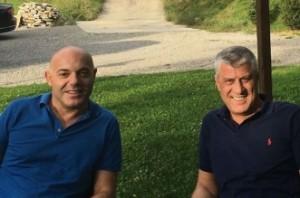 Fevziu bashkë me Thaçin në Prizren