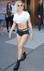 Gaga trondit sërish me veshjen e saj