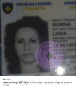 Linda Morina ka shpikur një fjalë të re