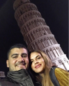 Ermali dhe Ariana festojn përvjetorin e 8'të të martesës