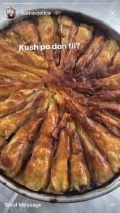 Luana Vjollca gatuan ushqime tradicionale kosovare