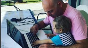 Vajza e Blendi Fevziut bën 1-vjeç, ja festa e organizuar nga gazetari