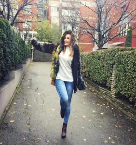Adelina Berisha njësh me natyrën