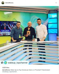 Blendi Fevziu në Top Channel!