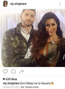 Ky është i fejuari i Soni Malaj