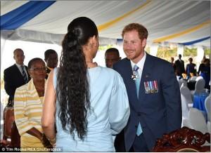 Rihanna takohet me Princin Harry