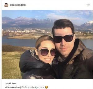 Albani dhe Miriami i kushtojnë kohë vetes dhe dashurisë së tyre