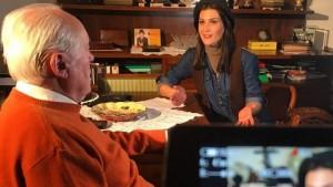 Mariza Ikonomi me emision televiziv