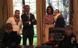 Meda me familje mysafirë të Barack Obamës!