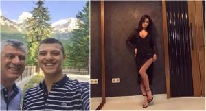 Zbulohet e dashura bombë e djalit të Presidentit Thaçi?!