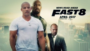Fast and Furious 8 lanson trailerin