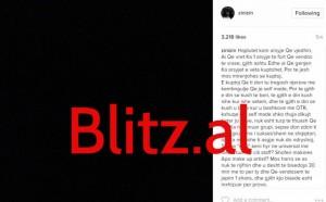 Plas sherri në grupin OTR. Noizy përze Encën!