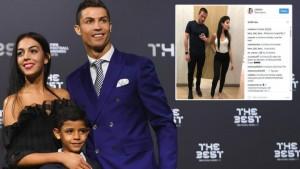 Ronaldo i dashuruar dhe  xheloz për të dashurën e tij