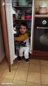 Big Mama e fut fëmijën në frigorifer