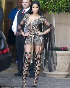 Nicki Minaj shkëlqen në Los Angeles