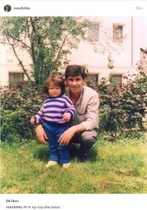 Rona Nishliu publikon një foto nga fëmijëria, ja si dukej ajo!