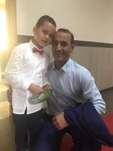 Gëzim në familjen e Daut Haradinajt